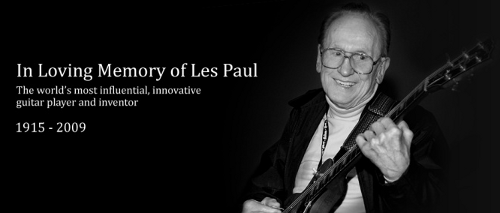 in loving memory of les paul